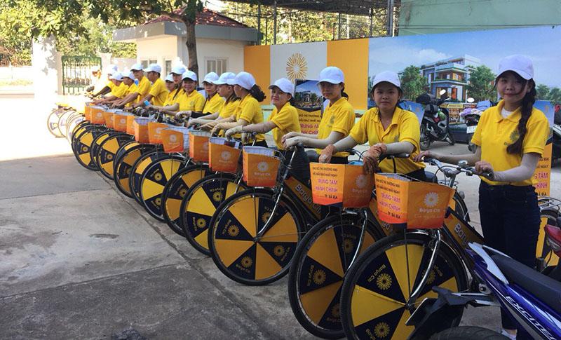 Vì sao nên sử dụng dich vu roadshow xe đạp xe máy của COI Event 1