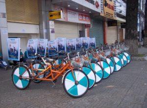 Dịch vụ cho thuê xe đạp chạy roadshow
