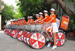 Vì sao nên sử dụng dich vu roadshow xe đạp xe máy của COI Event